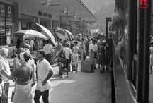 """Treni per...le vacanze / Dall'archivio della Fondazione FS Italiane, una galleria di immagini sulle """"magiche"""" partenze con i treni FS per le vacanze"""