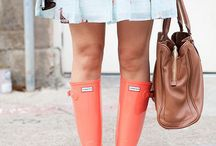 | HUNTER BOOTS |