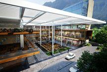 Arq-Plaza Comercial