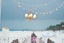 Beach Wedding Dinners