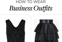 Business Outfits / Let's get down to business, in these perfect, put-together looks.