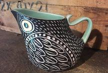 Pitcher & mug