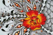 Art & Zentangles