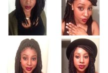 Box braids & Twists inspiration / Box braids