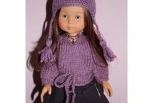 corolle tricot poupee / by Anita Goislard