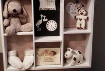 Letterbak babykamer