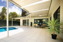 Stratco Outback Flat Roof Patio, Verandah, Pergola or Carport / A quality flat roof patio is an easy and inexpensive way to add value to your home. By expanding your outdoor living space you can make your home seem much larger and get more use of your outdoor space. A Stratco Outback flat roof patio can be a standalone carport or a patio attached to your existing home. Add it on as a verandah to wrap around your house or just add a simple carport to add sun protection for your car/boat/caravan or more.