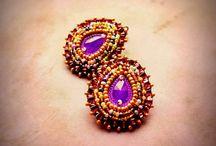 Tamarchi / hand-sewn jewelry