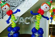 Circus and Carnival Balloon Decor / Turn your next event into the main attraction with balloons!  Want more? Visit www.balloonsbytommy.com