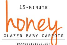 Honey baby carrots