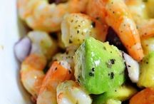 shrimp avacado salad
