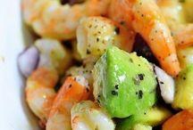 shrimp avacado salad