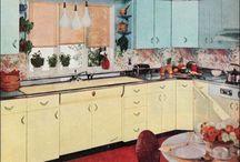 vintage kitchens / by Diane Sherman