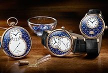 PAILLONNE ENAMELING / In the 18th century, the watch masters in the Jaquet-Droz family were pioneers in the art of luxury decoration, generating work for an entire generation of craftsmen.