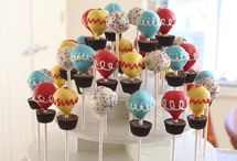 Round Cake Pop Stands / Inspiration for how to use The Smart Baker's Round Cake Pop Stand