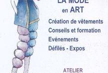 La-MODE-En-ART / Marie-Jeanne Smeets La MODE En ART présente son modèle