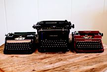 Typewriters: Just my type / Vintage typewriters