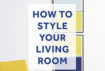 Interior Tips - Living Room Styling