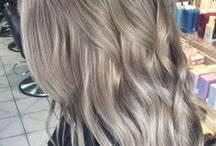 Ash blonde colour