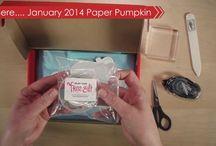 Paper Pumpkin Stampin' Up!