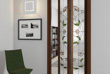 puertas vitral
