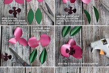 Flower diy / by Olimpia Aguilar Cepeda