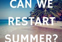 Dreaming off summertime / I love the Summer