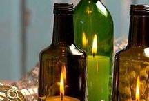 artesanato em garrafa