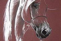 Horse Acrylic