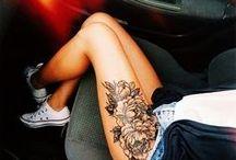 Tetování Na Stehna
