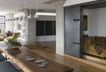 Nábytok drevo kov / Inšpirácia ku kombinacii dreva so železom v nábytku