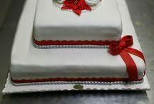 idee per decorare dolce nozze oro