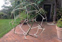 Inspiración / Ideas / Selección de imágenes relacionadas con el Bambú encontradas en Pinterest y webs amigas...