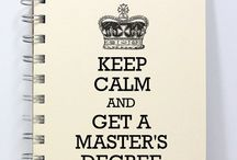 Masters Study Tips