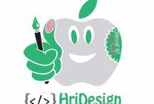 HriDesign loghi / Develop by HriDesign.it