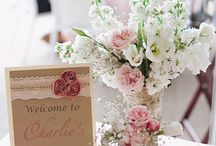 shabby chic princess baby shower / by Joy Bailey Smith