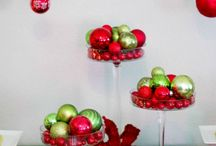 Christmas Ornaments~Table Decor / by Judy Marie