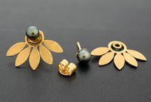 Golden Inspiration Earrings