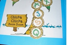 Chicka chicka boom boom / by Katie @ Living With Littles