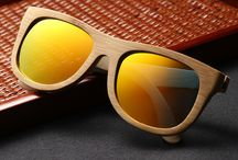 Ebony wood sunglasses / Combine style with nature - Sunglasses made from wood