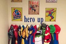 Superhero bedroom