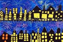 nocní mesto