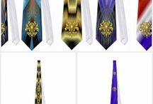 """Mardi Gras Ties 2 Wild & Crazy / You won't find these in any store  The Cost of a single Design $100.00 to $500.00, Your cost """"FREE on Zazzle""""why? because you don't have to pay for my services! Created in Corel Draw X7 One of a kind design from Digital Art Expressions"""