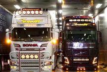 Trucks in style