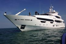 Sunseeker International / Just some of the yachts manufactured by Sunseeker in Poole, Dorset