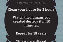 Motherhood humor