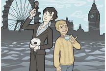 Sherlock / BBC Sherlock  / by Kate Cav