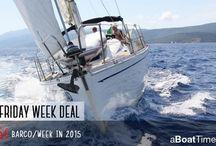 Yacht Charter Deals / Black Friday week deals 23/11/2015-29/11/2015