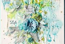 Inspirastion: Scrapbook pages / Inspiration I find on the internet :)