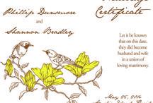 Wedding Ceremony Certificates